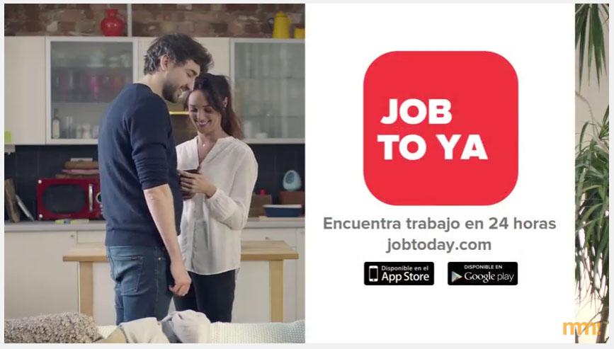Anuncio de Job Today, la aplicación para encontrar trabajo